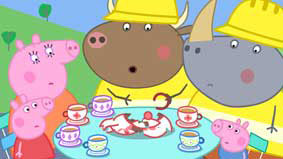 Peppa Pig: Bull in a China Shop